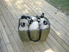 6 Pocket Full Body Goose Decoy Bag, Lesser, Speck Custom Decoy Bag DEC DEALS