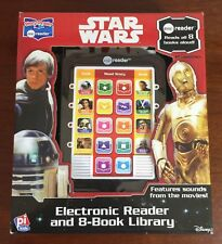 Star Wars me Reader Electronic Reader and 8 Book Library Story Reader Disney NEW