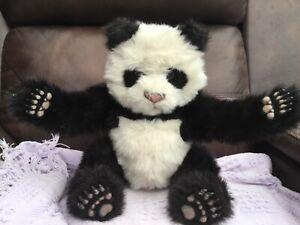 Hasbro Furreal Luv Cubs Panda Rare 2008 Interactive Soft Plush Toy WORKS