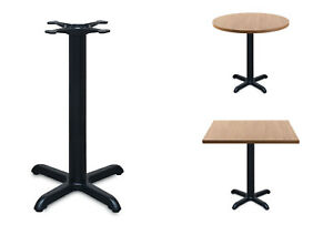 black cast iron table base dining restaurant cafe pub bar - FREE DELIVERY