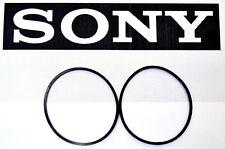 SONY CDP-CX400 400 300 CD Changer Player 2 Belt Set Carousel & CD Loading Belts