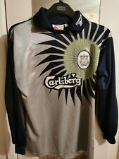 Liverpool FC Retro Goalkeeper Away Shirt 1997 - 1998 Reebok Long Sleeves