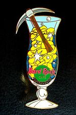 HRC Hard Rock Cafe Sacramento Hurricane Glass Series 2002 Gold Nuggets LE500