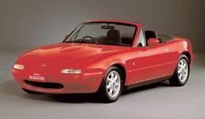 Mazda MX-5 / Miata Mk1 ROADSTER Stainless Steel Sill Protectors / Kick plates