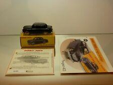 DINKY TOYS ATLAS 24B PEUGEOT 403 BERLINE - BLACK 1:43 - EXCELLENT IN BOX