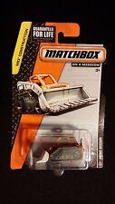 2014 MATCHBOX Mini Dozer Orange #28 CONSTRUCTION Die-Cast Vehicle