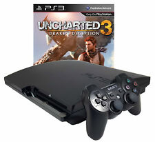 Refurbished Sony PlayStation 3 PS3 320GB Console with Uncharted 3 Bundle