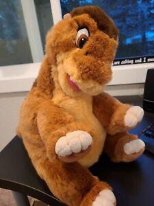 """1988 Gund Little Foot The Land Before Time Dinosaur 16"""" Plush Stuffed Animal VTG"""