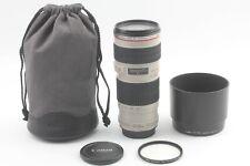 【 N MINT- w/ HOOD 】 Canon Zoom Lens EF 70-200mm f/4 L USM ULTRASONIC from JAPAN