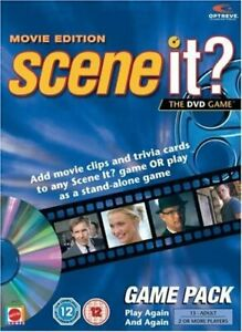 SCENE IT? MOVIE EDITION GAME PACK THE DVD GAME  (ADD ON PACK)