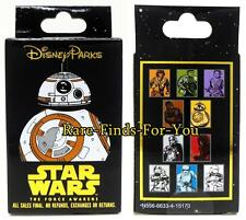 Disney Park Star Wars The Force Awakens 2-Pin Mystery Box Set Booster Pack (NEW)