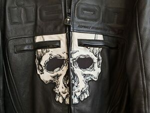 ICON Motorhead Skull Jacket Midnight M