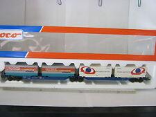 Roco HO 47102 Doppeltragwagen Deutsche Spedition / Siemens DB (RG/BO/52S2)
