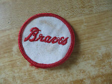 vtg.Milwaukee Braves baseball team logo old collectible sports memorabilia patch