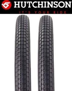 lot 2 pneus HUTCHINSON 2x19 Vroom 101 102 CADY AV44 AV76 Solex Motobecane 2-19