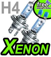 H4 100w Xenon Off Road Faros coche bombillas Azul Qty 2