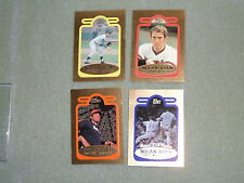 NOLAN RYAN- BLEACHERS- 4 Card 23KT Gold Bordered Set- #8753/10,000- 1993