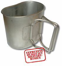 US Army USMC Stainless Camp cup Edelstahl Trinkbecher zur Feldflasche Becher