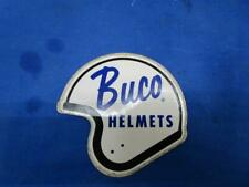 NOS Buco Helmets Vintage Sticker, 4 1/2 x 4 1/2 Inches, Cool Leftover   A508