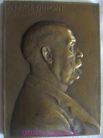 MED12148 - MEDAILLE EMILE DUPONT EXPOSITIONS LONDRES 1908 - SAINT-LOUIS 1904