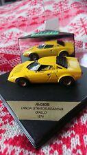 Rare Vitesse Lancia Stratos Yellow 1974 1/43