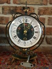 Vintage Hand painted Dutch Table clock (ORFAC/NUFA from 1960)