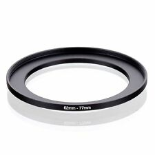 RISE(UK) 62mm-77mm 62-77 mm 62 to 77 Step Up Ring Filter Adapter black