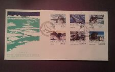 New Zealand Ross Antarctic cover FDC 1992 SEALS First Day Cover (Isssue)