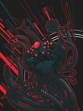 Squiddy Poster - Peter Guiterrez - Limited Edition of 35 - Matrix