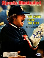 """MARK FIDRYCH Signed Autographed Magazine """"SPORTS ILLUSTRATED COVER"""" BAS #S16282"""