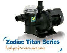 Zodiac Titan 3/4 HP ZTS075 Pool Pump. Solar Heating or Above Ground Pump
