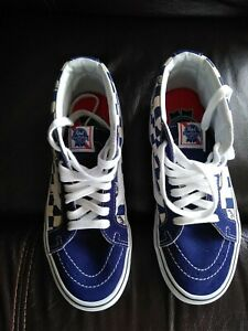 LIMITED EDITION Vans Pabst Blue Ribbon Shoes Size Men's 6 1/2