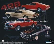 1968 1969 1970 1978 FORD MOTOR COMPANY PONY MUSTANG 428 COBRA JET 8 X 10 PHOTO
