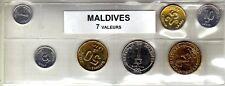 Maldives série de 7 pièces de monnaie