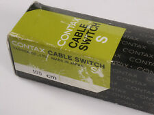 PRL) CONTAX CAVO SCATTO CABLE SWITCH S 100 cm DECLENCHEUR SOUPLE KABELAUSLOSER