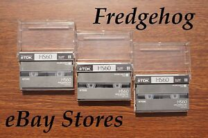 3 x QUALITY TDK P5-60 HS (HIGH STANDARD) Video 8/ 8mm CAMCORDER TAPES/ CASSETTES