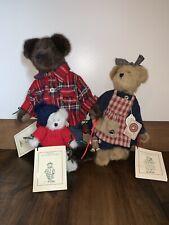 Boyds Bears- Jacob Wishkabibble,Grannie Annie Wishkabibble,Baby Mae Wishkabibble