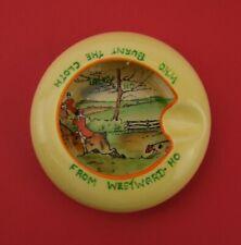 Carlton Ware Novelty Westward-Ho Hunting Scene Ashtray - Made in England