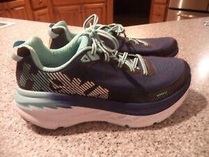 Women SZ 10 Hoka One One Bondi 5 Running Shoes EXC