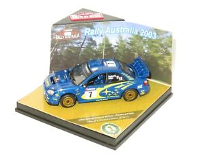 1/43 Subaru Impreza S9 WRC`03  Telstra Rally Australia 2003  #7 P.Solberg