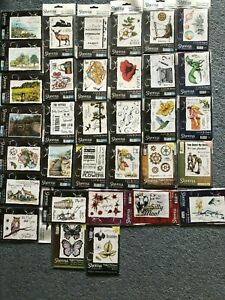 CRAFTERS COMPANION STAMPS LITTLE BIT SKETCHY SCENIC DIFFERENT MAGICAL FUSION