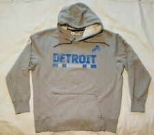 Detroit Lions NIKE NFL Team Issued Authentic Sweatshirt Hoodie XL RARE