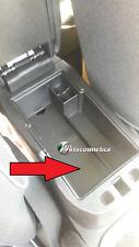 Fit Fiat 500X 2014-2017 Auto Schwarz Mittelkonsole Armlehne Aufbewahrungsbox