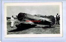 1931 GEE BEE MODEL Z SUPER SPORTSTER LOWELL BAYLES THOMPSON RACE ORIGINAL PHOTO