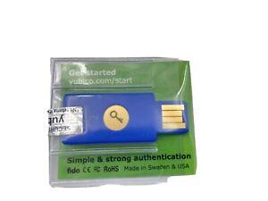 Yubico security key - U2F / FIDO2, USB-A, 2-step authentication