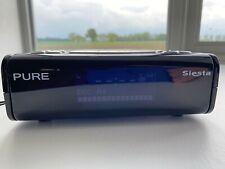 PURE Siesta FM/DAB Digital Radio Alarm Clock in Great Condition