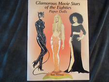 Glamorous Movie Stars of the 80's Paper Dolls by Tom Tierney Perfect Condition