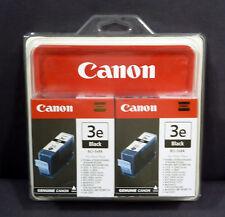CANON Black Printer Ink Cartridge BCI-3e 2-Pack Pixma