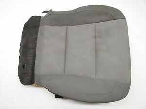 2014 TOYOTA COROLLA FRONT RIGHT LOWER SEAT CUSHION GRAY OEM 14 15
