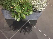 Brazilian Slate Tiles Flooring 10m2 600x300 10mm ✔Thick Calibrat Black FREE DEL